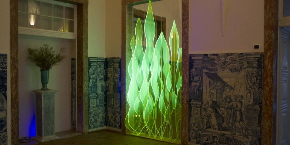 Jana Matejkova-Middleton, Outside Over There, LightCraft, Palácio Belmonte (Maria Ursula Room), 2016